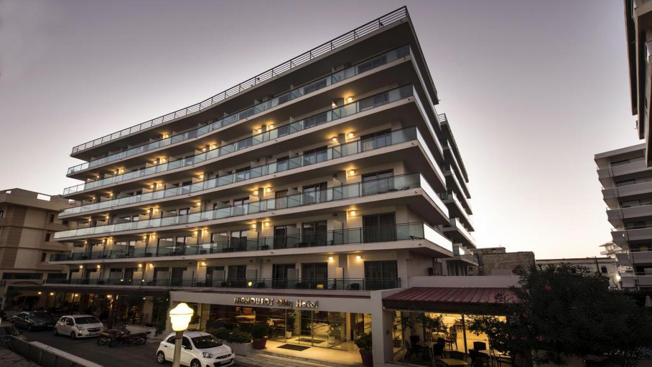 Manousos City Hotel - Почивка на о-в Родос