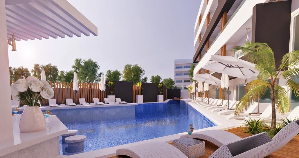 Остров Родос със самолет - почивка в Castellum Suites Hotel 4* - от София!