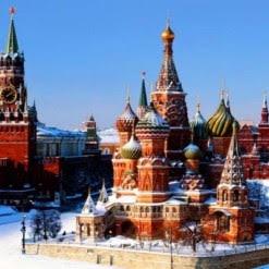 Нова година в Москва - полет от София