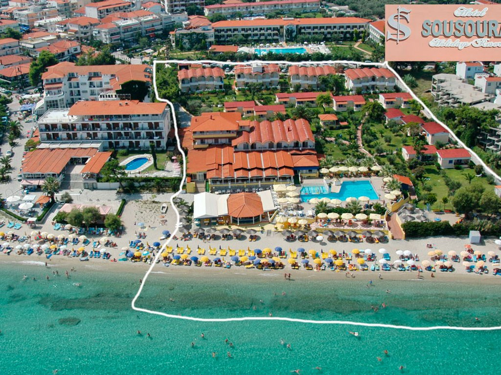 Почивка в Sousouras Hotel 4* - Ханиоти - Касандра - Халкидики