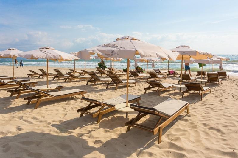 Минерална вода и собствен плаж - Балнеохотел Терма палас 5*, Кранево