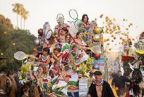 """Юлски празници """"Batalla flores"""" във Валенсия -"""