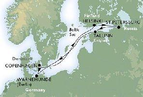 КРУИЗ: Северни столици - 8 дни на борда на MSC Magnifica от 19.08.2017 г.