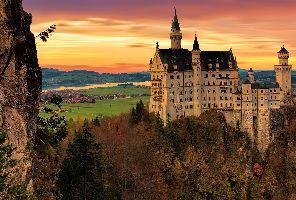 Италия и Баварски замъци - обиколна екскурзия с автобус и самолет!
