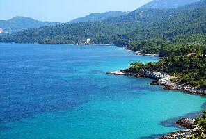 Лятно слънце на остров Тасос, отпътуване от Варна и Бургас