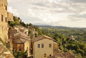 Пъстрата Тоскана и древният Рим - със самолет и автобус