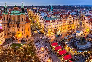 Коледа в блестящия исторически център на Прага - самолетна екскурзия