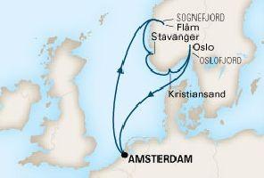 КРУИЗ в Норвегия - 7 дни от 25.06.2017 г. - кораб MS KONINGSDAM