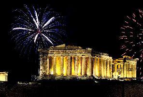 Нова година - Атина