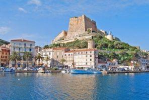 Италия - Франция: Островите Корсика и Сардиния - самолет!