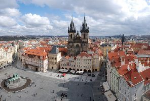 Златна Прага - Карлови Вари - Чешки замъци - самолет - 25.08.2019 г.