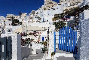 Мини почивка на остров Санторини + Атина 2018 - самолет и автобус - 5 дни