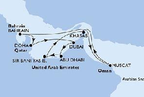 ПРОМО КРУИЗ в Арабско море + полет от България: 14 дни от 06.02.2019 г.