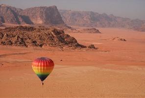 Йордания с чартър от София + нощувка в пустинята