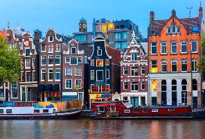 Амстердам, 3 нощувки със самолет