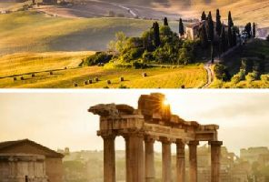 Рим, Тоскана и Чинкуе Терре 15.09.2018 (от София)