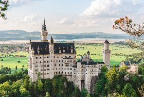 Баварски кралски замъци - без нощни преходи