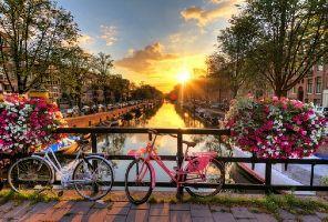 Холандия - Красива цветна картичка 03.05.2019
