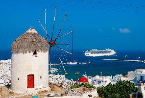 Почивка на остров Миконос със самолет