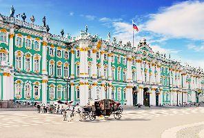 Звездите на Русия: Москва и Санкт Петербург - 7 дни - полет от София!
