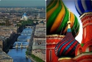 Великолепната Русия - Москва и Санкт Петербург - 8 дни - ТОП оферта!