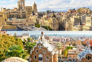 Самолетна екскурзия до Мадрид и Барселона