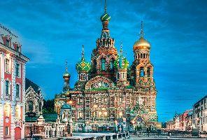 Русия със Скандинавия и Прибалтика - самолет и круизен кораб