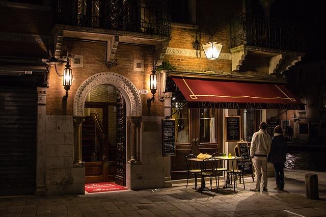 Италиански речник: ресторант, тратория или остерия?