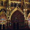 Светлинното шоу на катедралата Амиен - Франция