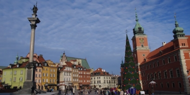 Старият град на Варшава, който не е чак толкова стар