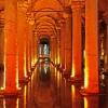 Цистерната на базиликата в Истанбул