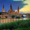 Сарагоса - испанско бижу на брега на река Ебро