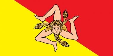 Историята на знамето на Сицилия