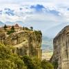 Манастирите на Метеора - каменна гора и нейните древни обитатели