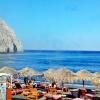 Периса, Санторини – плаж и островен живот