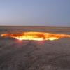Да застанеш пред портите на Ада в Туркменистан