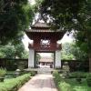 Храмът на литературата - домът на Конфуций в Ханой, Виетнам
