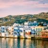 Малката Венеция на остров Миконос: място за вино по залез