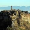 Чивита ди Баньореджо - скалното градче, кацнало на хълм