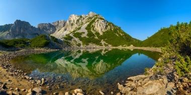 Синаница в Пирин - разцепеният връх